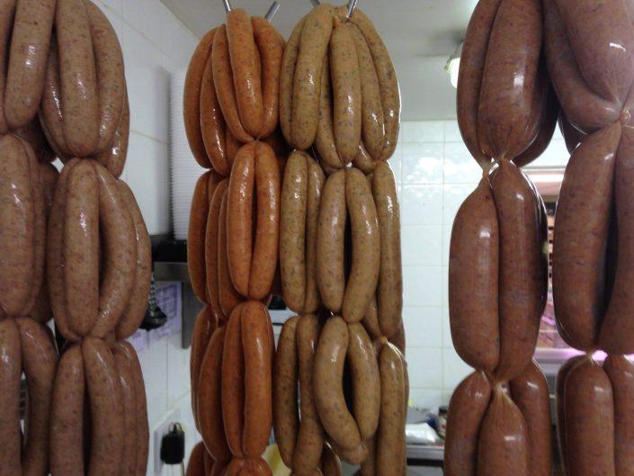 Top Barn Harvest Shop Sausages