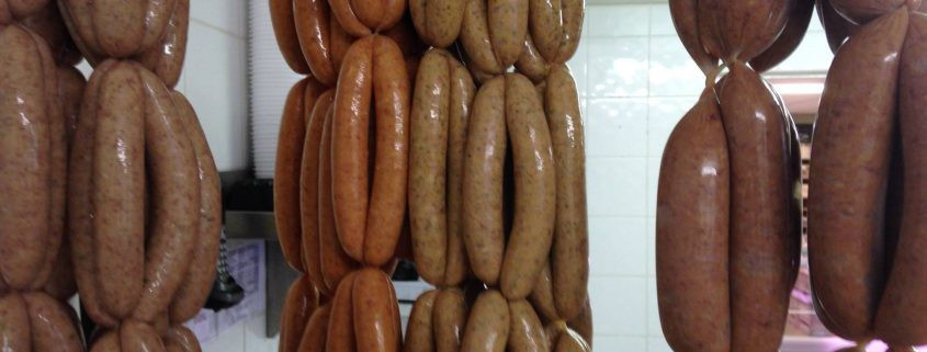 Top Barn Harvest Shop Sausages