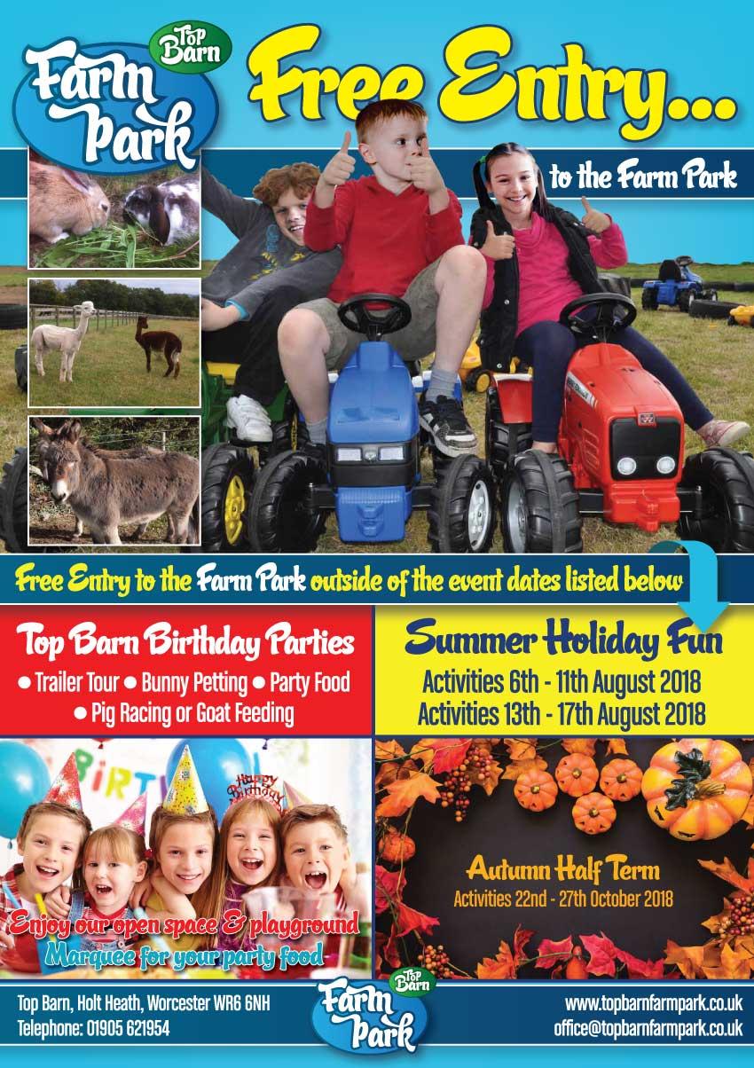 Top Barn Farm Park Summer 2018
