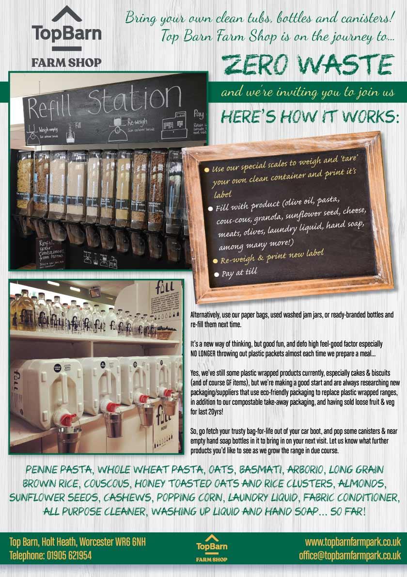 Top Barn Farm Shop Zero Waste